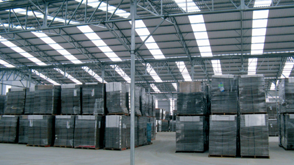 Suntuf Industrial commercial Polycarbonate sheeting Skylights warehouse lighting