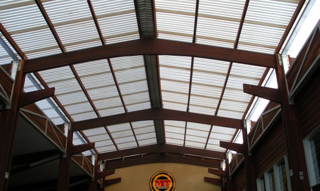 Suntuf Commercial polycarbonate sheeting profile corrugated