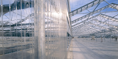 Laserlite Commercial Polycarbonate sheeting clear corrugated