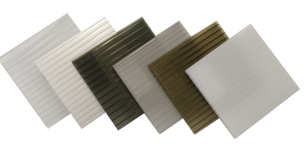Sunlite Twinwall Polycarbonate Colour Samples Web