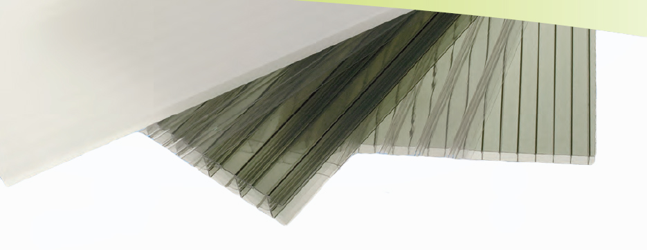 Sunlite Twinwall Flat Polycarbonate Roofing