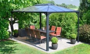 Polycarbonate Patio and carport Kits Gazebo free standing structures