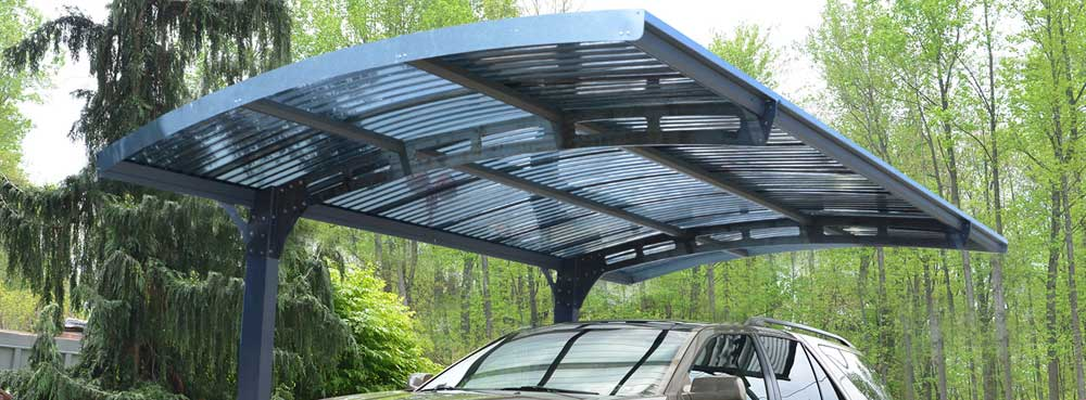 Arizona Wave Polycarbonate Carport Kit - Polycarbonate Roofing
